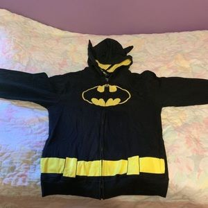 Classic Batman Black and Yellow jacket